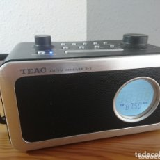 Radios antiguas: RADIO DESPERTADOR DIGITAL TEAC R-2 AM/FM RECEIVER. Lote 173653335