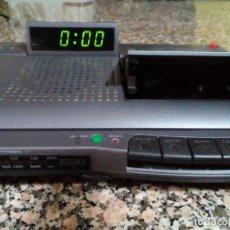 Radios antiguas: RADIO CASSETE CON RELOJ -ALARMA MARCA PHILIPS. Lote 173837557