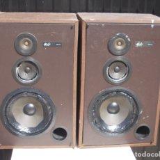 Radios antiguas: PAREJA ALTAVOCES JBL RADIANCE SERIES MODEL 77 VX, USA CALIFORNIA. MAL ESTADO A RESTAURAR O PIEZAS. Lote 173841783