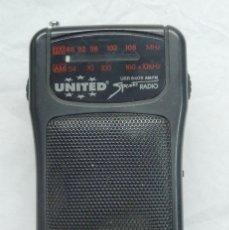 Radios antiguas: ELECTRONICA, RADIO TRANSISTOR UNITED SPORTS - NO FUNCIONA . Lote 173862162