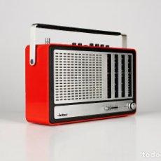 Radios antiguas: RADIO INTER EUROMODUL 150 FM ROJO TRANSISTOR VINTAGE ESPAÑA RETRO AÑOS 70. Lote 173892777
