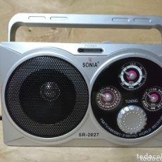 Radios antiguas: RADIO TRANSISTOR SONIA SR2027. Lote 174011983