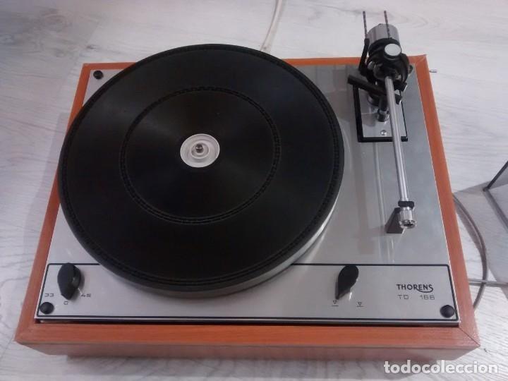 Radios antiguas: TOCADISCOS THORENS TD 166 - Foto 2 - 174016974
