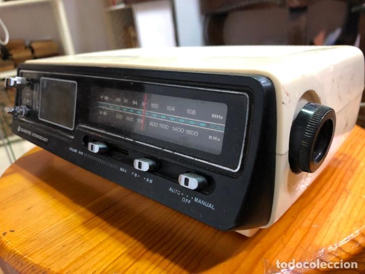 Radios antiguas: RADIO RELOJ SANYO AÑOS 60 - RADIO FUNCIONANDO PERFECTAMENTE - Foto 7 - 174034578