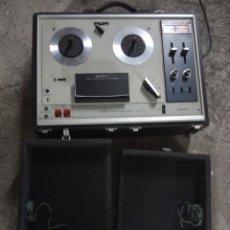 Radios antiguas: MAGNETOFON SONY TC-270-ALTAVOCES. Lote 174034632