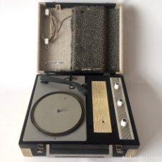 Radios antiguas: TOCADISCOS MALETÍN PICK UP - PERPETUUM EBNER MUSICAL 132 - FABRICADO EN ESPAÑA. Lote 174146309