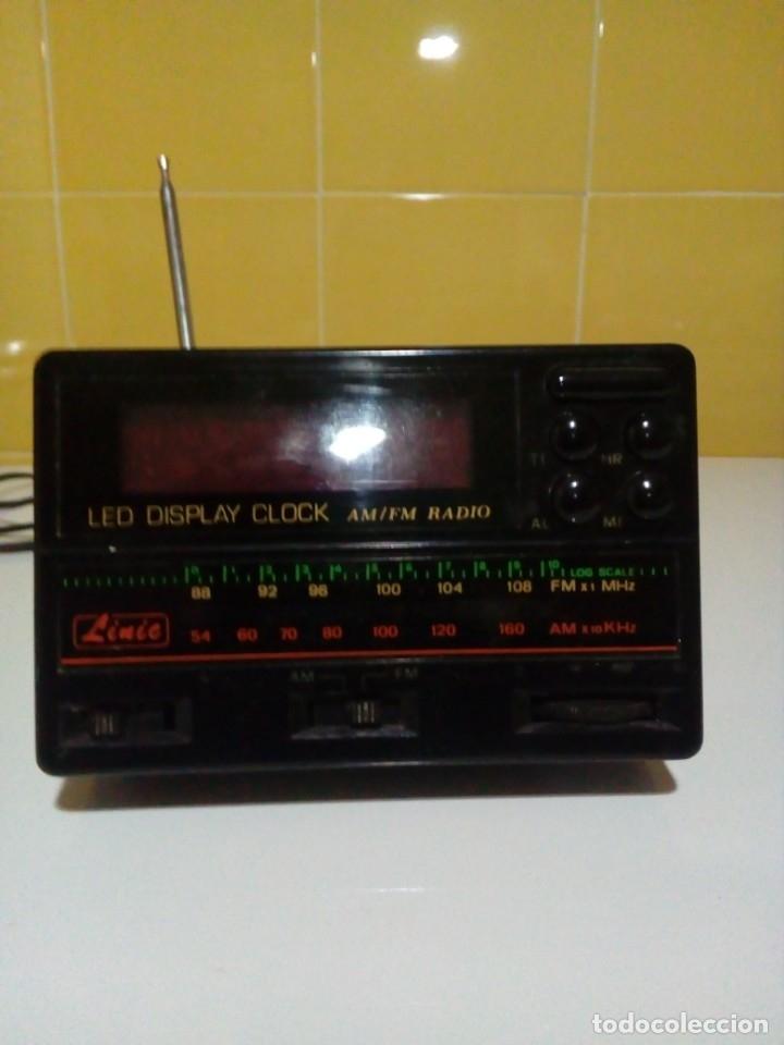 Radios antiguas: RADIO-RELOJ CON ALARMA - Foto 2 - 174261777