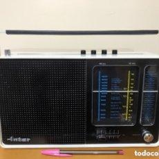 Radios antiguas: RADIO ÍNTER EUROMODUL 162, FUNCIONA, VER VÍDEO.. Lote 174302313