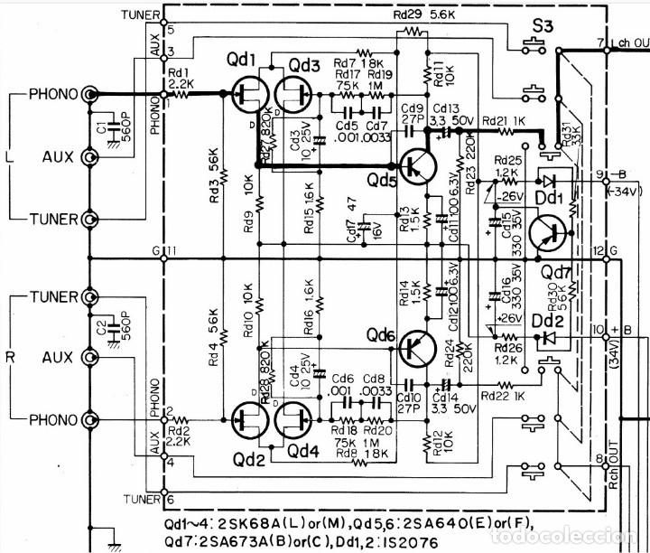 Radios antiguas: PREVIO DE PHONO - FONO - KENWOOD - PARA CAPSULAS MM - Foto 6 - 174494672