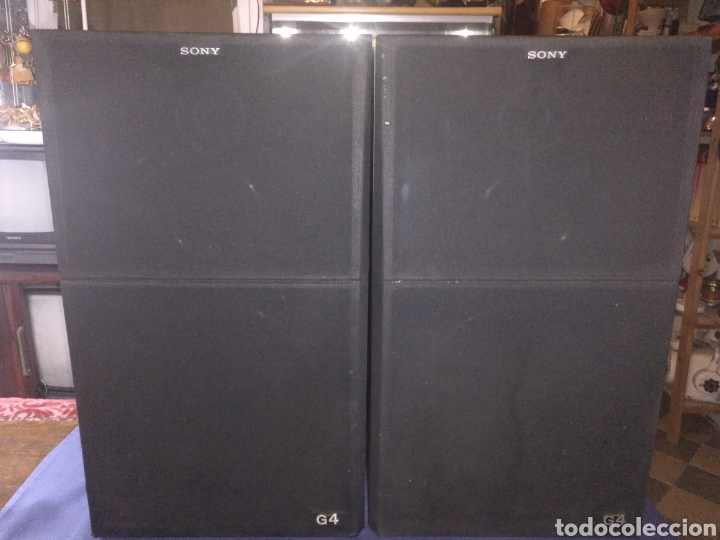 Radios antiguas: 2 Altavoces G4 Sony - Foto 3 - 174528793