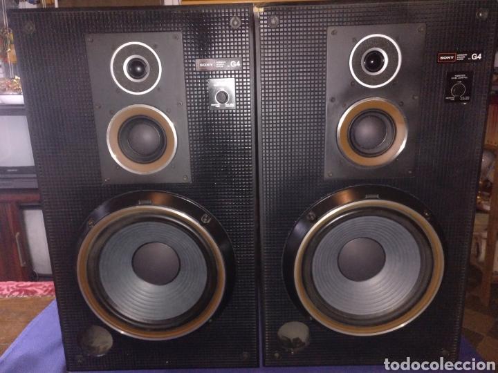 2 ALTAVOCES G4 SONY (Radios, Gramófonos, Grabadoras y Otros - Transistores, Pick-ups y Otros)