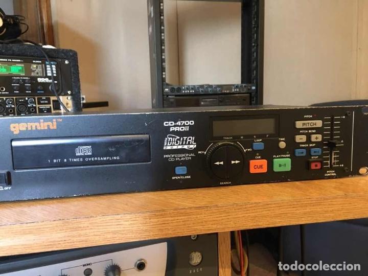 Radios antiguas: Gemini Cd Player CD4700 Profesional lente nueva Pepeto electronica - Foto 2 - 174917652