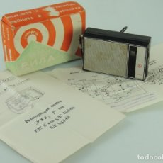 Radios antiguas: ANTIGUA RADIO TRANSISTOR MARCA RILA 2 URRS AM/FM VINTAGE AÑOS 60-70 RARO. Lote 174959312