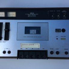 Radios antiguas: VINTAGE STEREO CASSETTE DECK AKAI CS-34D. Lote 175052924