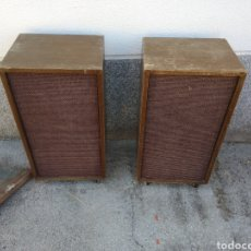 Radios antiguas: PAREJA DE ALTAVOCES THS FISHER XP-6B. Lote 175193803