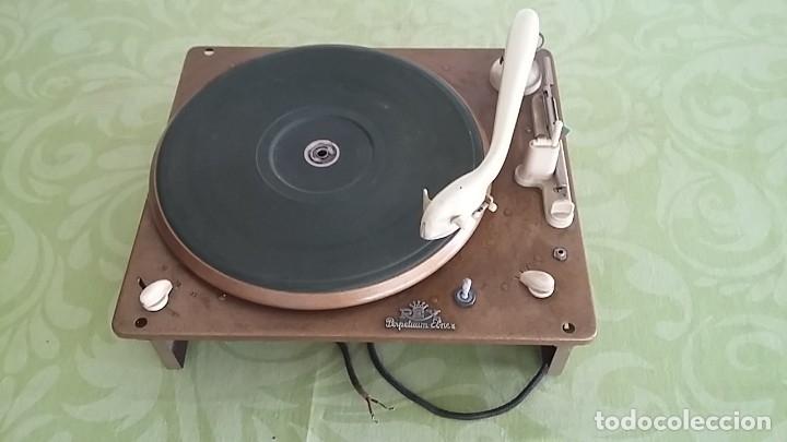 TOCADISCOS PERPETUUM EBNER AÑOS 50S (Radios, Gramófonos, Grabadoras y Otros - Transistores, Pick-ups y Otros)