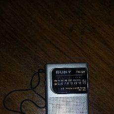 Radios antiguas: RADIO SONY AM - FM.. Lote 175289325