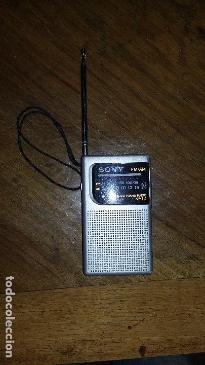 Radios antiguas: Radio sony am - fm. - Foto 2 - 175289325