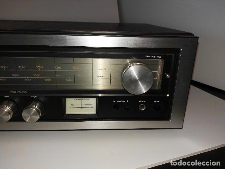 Radios antiguas: LUXMAN / LUXMAN R -1030- Sonido Excepcional !! ver Ver fotos!! - Foto 2 - 175344719