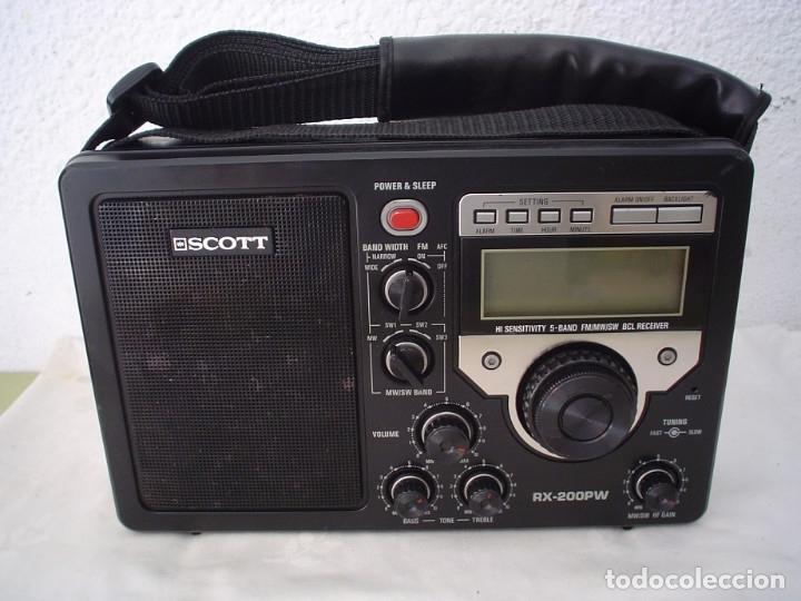 RADIO MULTIBANDAS SCOTT RX-200PW (Radios, Gramófonos, Grabadoras y Otros - Transistores, Pick-ups y Otros)