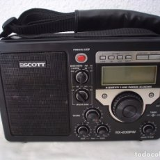 Radios antiguas: RADIO MULTIBANDAS SCOTT RX-200PW . Lote 175459219