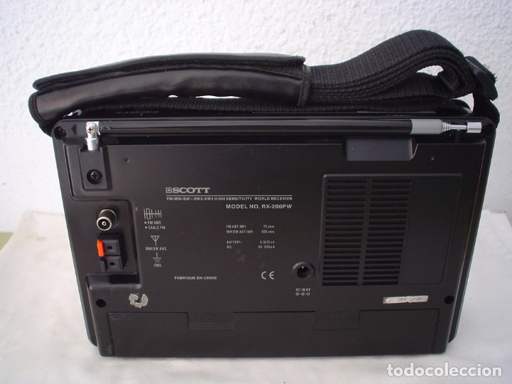 Radios antiguas: RADIO MULTIBANDAS SCOTT RX-200PW - Foto 3 - 175459219