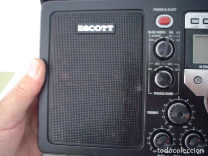 Radios antiguas: RADIO MULTIBANDAS SCOTT RX-200PW - Foto 4 - 175459219