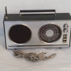 Radios antiguas: RADIO VINTAGE DE TRANSISTORES INTER EUROMODUL 118. Lote 175544370