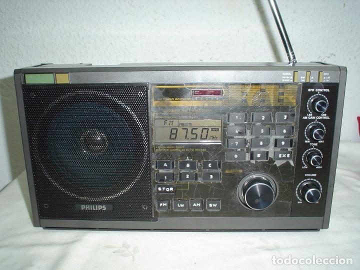 RADIO MULTIBANDAS PHILIPS D2935PLL (Radios, Gramófonos, Grabadoras y Otros - Transistores, Pick-ups y Otros)