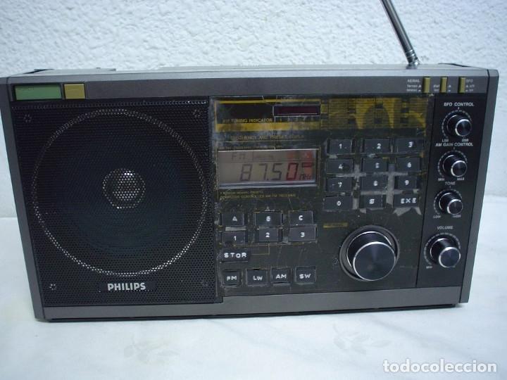 Radios antiguas: RADIO MULTIBANDAS PHILIPS D2935PLL - Foto 6 - 175548300
