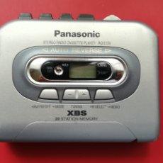 Radios antiguas: PANASONIC WALKMAN RADIO CASSETTE STEREO XBS RQ-E10V . AÑOS 90. Lote 175651920
