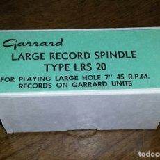 Radios antiguas: CARGADOR DISCOS 45 RPM. GARRARD.. Lote 175685528