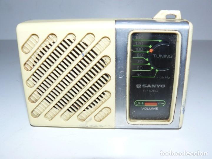 RADIO TRANSISTOR SANYO - RP 1280 (Radios, Gramófonos, Grabadoras y Otros - Transistores, Pick-ups y Otros)
