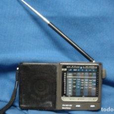 Radios antiguas: MINI RADIO TRANSISTOR MULTIBANDAS - FUNCIONA. Lote 175721114