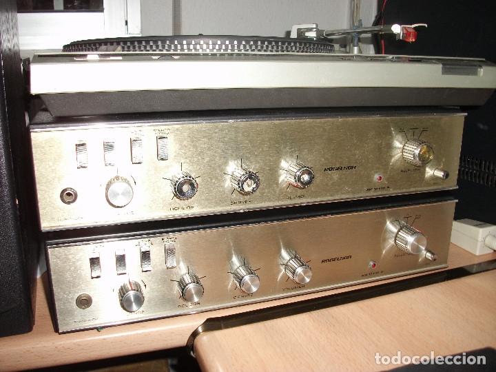 PAR DE AMPLIFICADORES **ROSELSON** (Radios, Gramófonos, Grabadoras y Otros - Transistores, Pick-ups y Otros)
