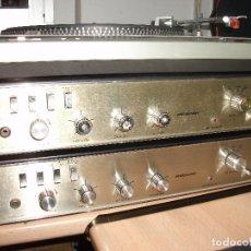 Radios antiguas: PAR DE AMPLIFICADORES **ROSELSON**. Lote 175816857