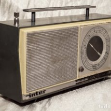 Radios antiguas: RADIO INTER FM 1955/60. Lote 175826030