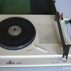 Radios antiguas: TOCADISCOS A PILAS COSMO A 2030 NO FUNCIONA. Lote 175833682