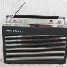Radios antiguas: RADIO ANTIGUA UNIVERSUM DE 1966. Lote 175856359