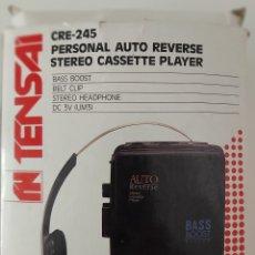 Radios antiguas: WALKMAN CASETTE TENSAI WR 350 - AUTO REVERSE. Lote 175898667