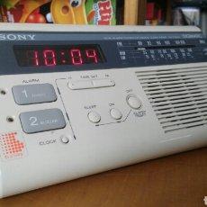 Radios antiguas: RADIO DESPERTADOR SONY DIGIMATIC. Lote 175907235