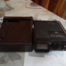 Radios antiguas: RADIO TELEVISIÓN JVC CON FUNDA. Lote 175918455
