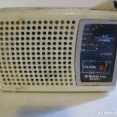 Radios antiguas: RADIO TRANSISTOR SANYO RP 1270. Lote 175934288
