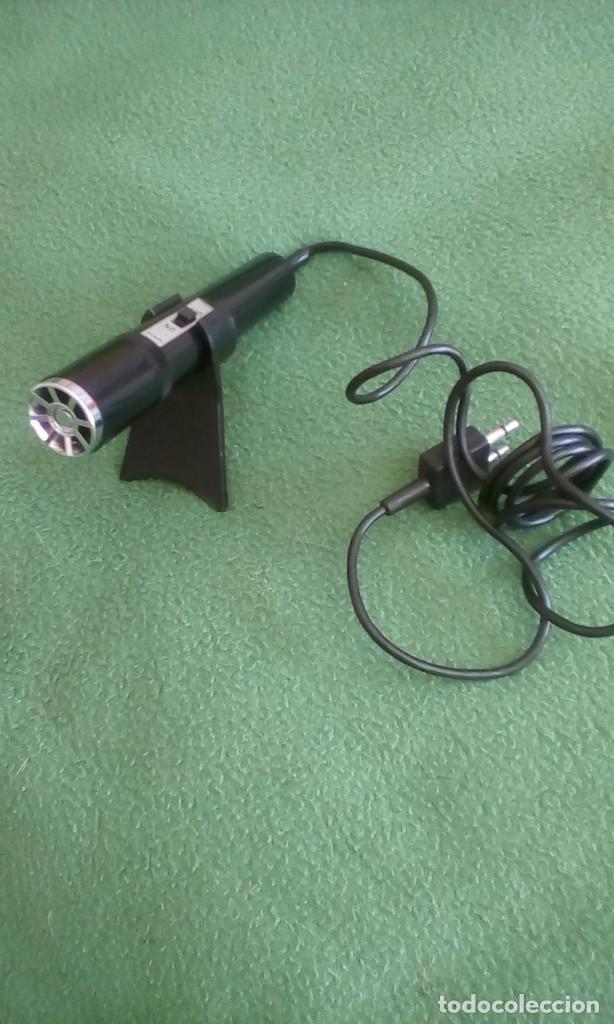 Radios antiguas: Micrófono SANYO - Foto 5 - 175945157