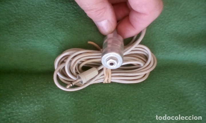 Radios antiguas: Micrófono supresor ruidos - Foto 2 - 175945197