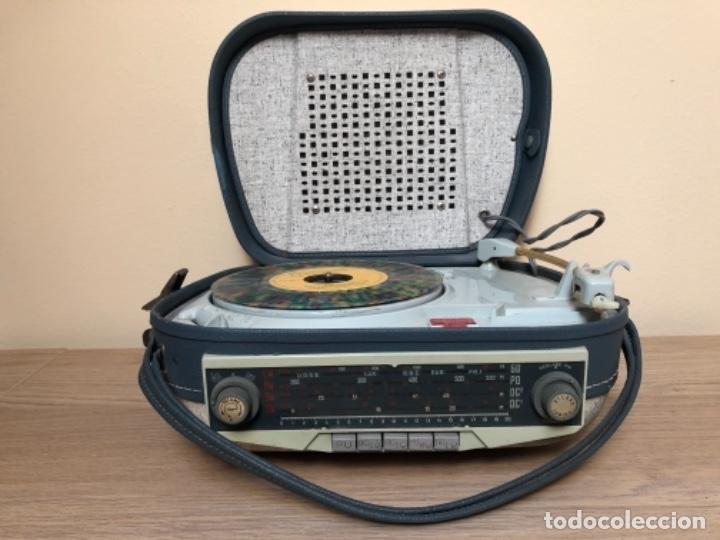 RADIO TOCADISCOS TEPAZ AÑOS 60 - DIFICILÍSIMO!!! (Radios, Gramófonos, Grabadoras y Otros - Transistores, Pick-ups y Otros)