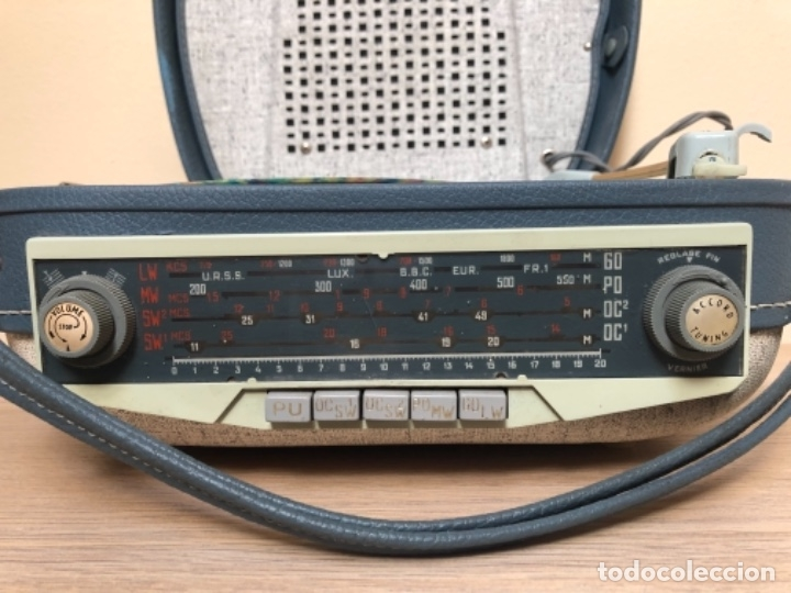 Radios antiguas: RADIO TOCADISCOS TEPAZ AÑOS 60 - DIFICILÍSIMO!!! - Foto 5 - 175991377