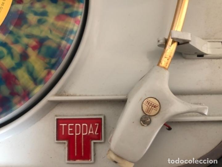 Radios antiguas: RADIO TOCADISCOS TEPAZ AÑOS 60 - DIFICILÍSIMO!!! - Foto 7 - 175991377