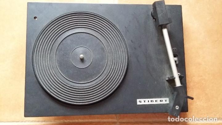 TOCADISCOS STIBERT PARA DESPIECE. (Radios, Gramófonos, Grabadoras y Otros - Transistores, Pick-ups y Otros)