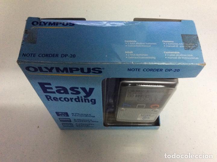 Radios antiguas: Grabadora olympus DP-20 A ESTRENAR - Foto 4 - 176212320
